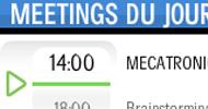 Meetingss du jour